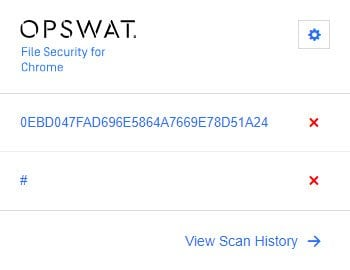 OPSWAT File Security for Chrome analiza los archivos descargados con 30 motores antimalware 8