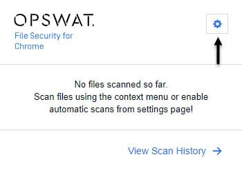 OPSWAT File Security for Chrome analiza los archivos descargados con 30 motores antimalware 4