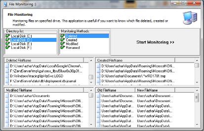 Supervisar y realizar un seguimiento de los cambios y la actividad de los archivos en el equipo con Windows.