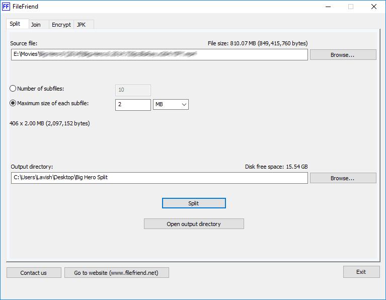 El mejor software gratuito de File Splitter y Joiner para Windows 10