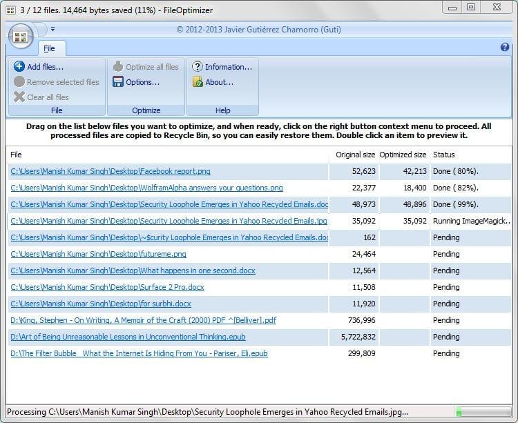 FileOptimizer: La herramienta de optimización de archivos que todo el mundo debería utilizar 1