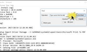 El sistema no puede encontrar el archivo de error especificado en Windows 10/8/7