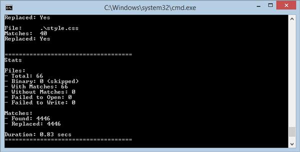 Buscar y reemplazar texto en varios archivos al por mayor en un PC con Windows