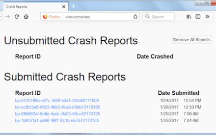 Arreglar el fallo de Firefox en un PC con Windows 10