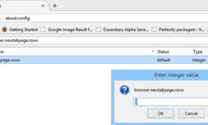Lo más útil de Mozilla Firefox sobre:config tweaks