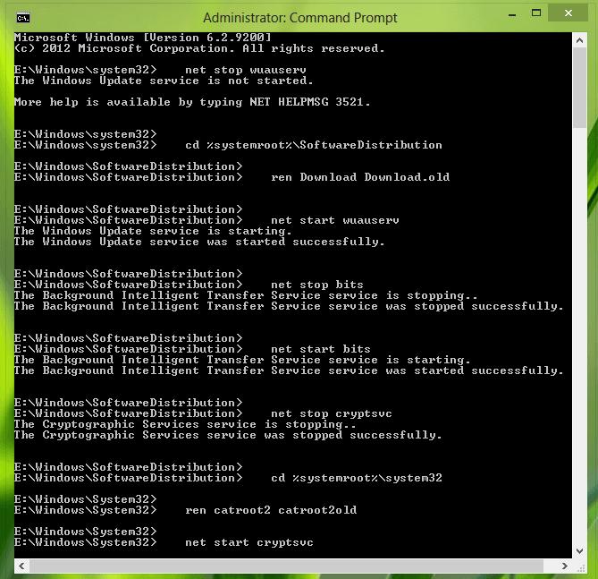 Reparación de imágenes de Windows dañadas - Error 0x800f0906