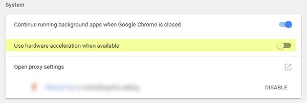 Solución de problemas de pantalla de Google Chrome negro en Windows 10/8/7 2