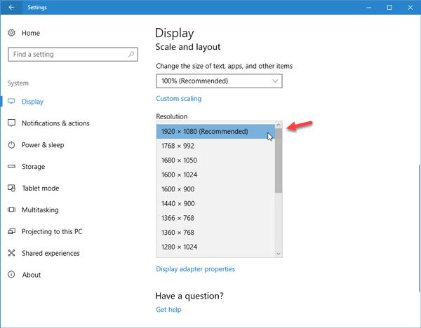 Soluciona el problema del tamaño de fuente cuando se trabaja con varias aplicaciones en Windows 10