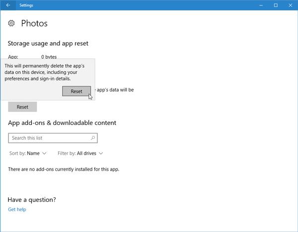 Corrección: Windows 10 no puede abrir archivos JPG 2
