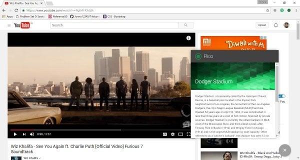 La extensión Flico Chrome le permite identificar puntos de referencia en vídeos de YouTube