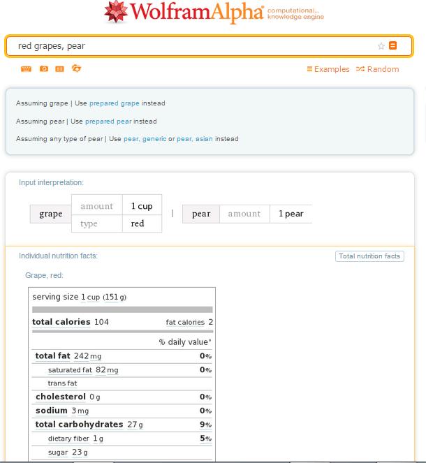 Cómo usar el motor de conocimiento Wolfram Alpha 5