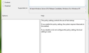 Forzar a Windows 10/8 a tener el arranque híbrido siempre activado