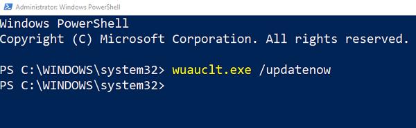 Cómo forzar la actualización de Windows 10