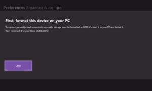 Habilitar la grabación de DVR de juegos de 1080p y guardar en la unidad externa en Xbox One