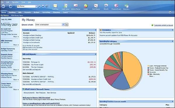 Software gratuito de finanzas personales y contabilidad empresarial para Windows