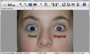 Eliminar defectos, imperfecciones y ojos rojos con herramientas gratuitas