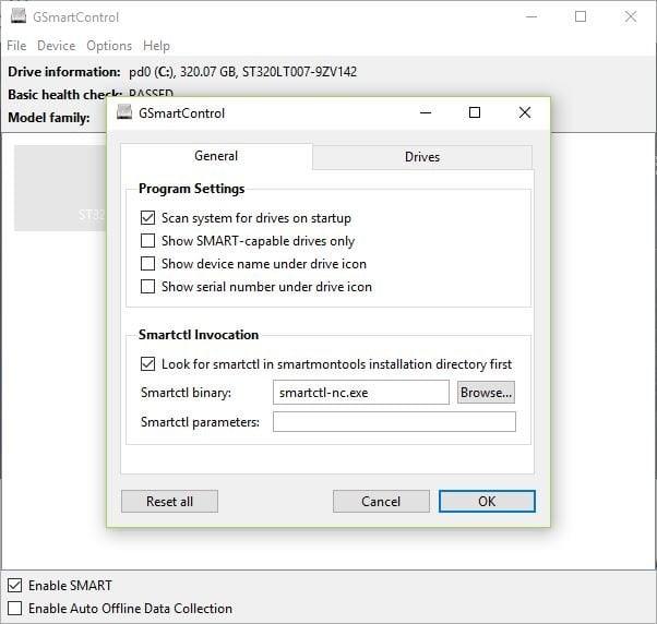 GSmartControl es una forma fácil de comprobar el estado de su disco duro