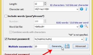 PWGen: Cree contraseñas o frases de contraseña seguras criptográficamente