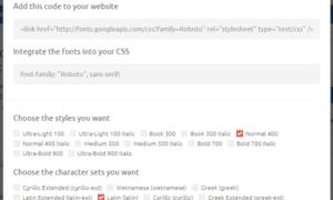 TypeWonder: Prueba de las fuentes web de Google en cualquier sitio web