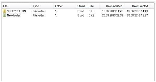 FreeUndelete: Software gratuito de recuperación de datos portátil para Windows 8 5