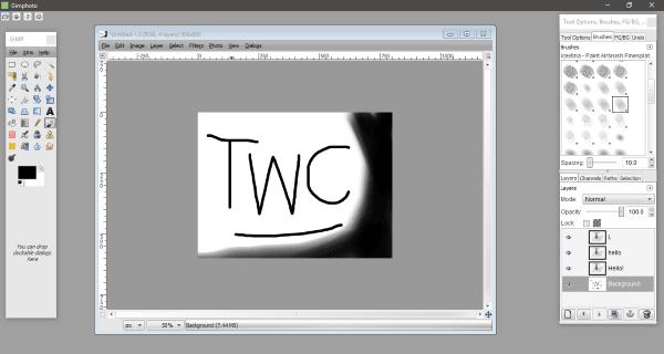 GIMPHOTO: Software alternativo gratuito de Photoshop Photo and Image Editor para Windows 10 1