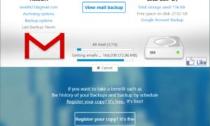 Cómo realizar copias de seguridad de los mensajes de correo electrónico de Gmail con UpSafe GMail Backup Freeware