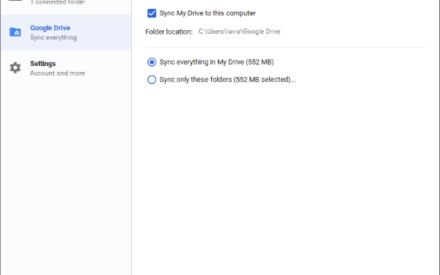 La herramienta de copia de seguridad y sincronización de Google te permite realizar copias de seguridad de archivos e imágenes en la unidad y las fotos.