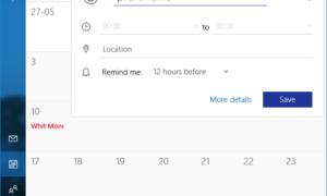 Cómo crear y gestionar un evento en Google Calendar en Windows 10
