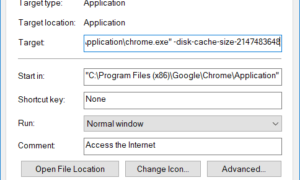 Cómo cambiar el tamaño de la caché de Google Chrome para mejorar el rendimiento en Windows 10