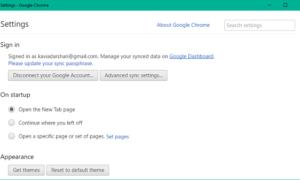 Cómo abrir el menú Configuración de Google Chrome en una ventana independiente