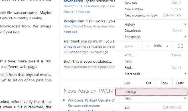 Google Chrome abre automáticamente una nueva pestaña en Windows 1