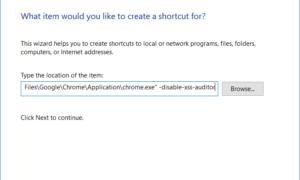 Corrección de ERR_BLOCKED_BY_XSS_AUDITOR Error de Google Chrome
