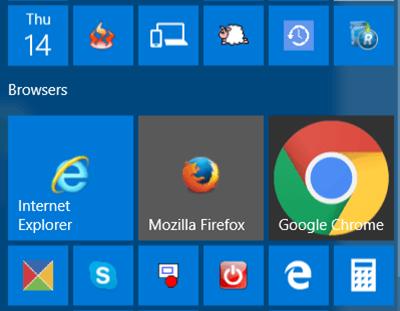 El icono de Google Chrome es demasiado grande en Windows 10 1