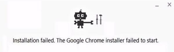 Error de instalación de Google Chrome: 4, 7, 12, 13, 31, 35, 57, 102, 103