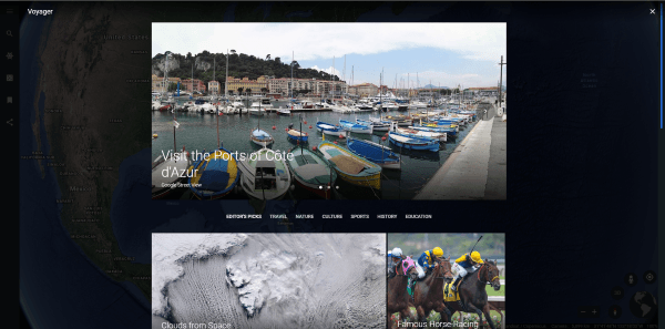 Uso de Google Earth en el navegador Chrome