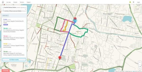 Las mejores alternativas de Google Maps para el uso diario