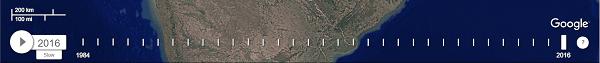 Cómo utilizar Google Earth Time Lapse para rastrear los cambios en el paisaje 2