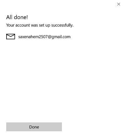 Cómo sincronizar Google Calendar con Windows 10 Mail App