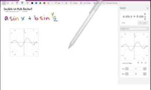 Cómo graficar una ecuación en OneNote para Windows 10