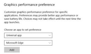 La aplicación ha sido bloqueada para acceder al hardware de gráficos en Windows 10