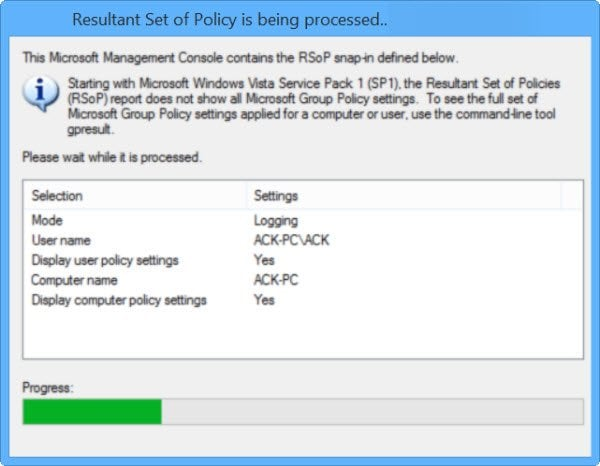 Verificar la configuración de la directiva de grupo con la herramienta Resultados de la directiva de grupo o GPResult.exe en Windows 1