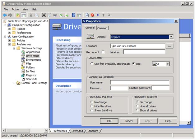 Unidades de red asignadas que no funcionan en Windows 10
