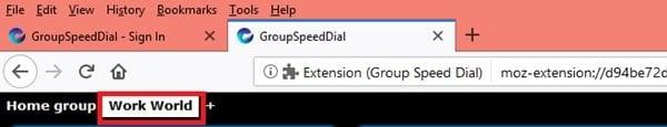 Marcación rápida de grupo para Firefox: Mantenga los sitios de Internet más importantes al alcance de la mano 5