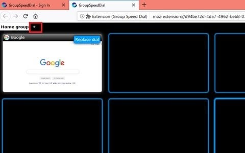 Marcación rápida de grupo para Firefox: Mantenga los sitios de Internet más importantes al alcance de la mano 3