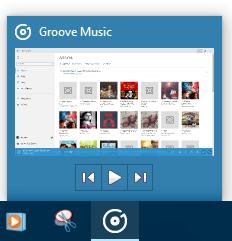 Aplicación Groove Music en Windows 10