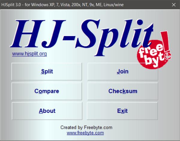 El mejor software gratuito de File Splitter y Joiner para Windows 10 3