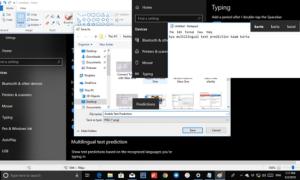 Cómo habilitar la predicción de texto para el teclado de hardware en Windows 10