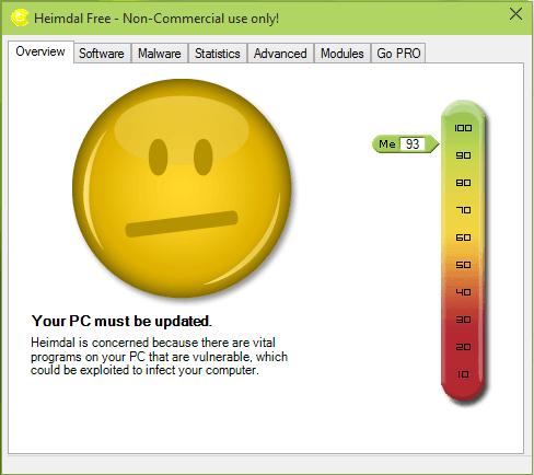 Heimdal Security Free: Proteja Windows de las vulnerabilidades de seguridad en software vulnerable