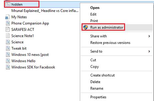 Cómo crear una cuenta de usuario de administrador oculta en Windows 10