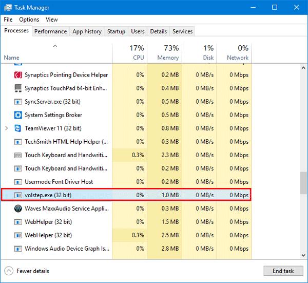 Cómo ocultar el indicador de volumen en pantalla en Windows 10